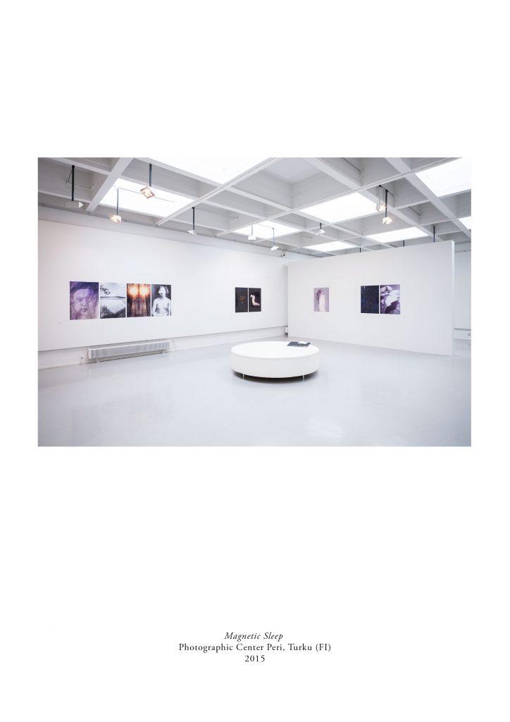 Milja Laurila: exhibition Magnetic Sleep at Photographic Cneter Peri